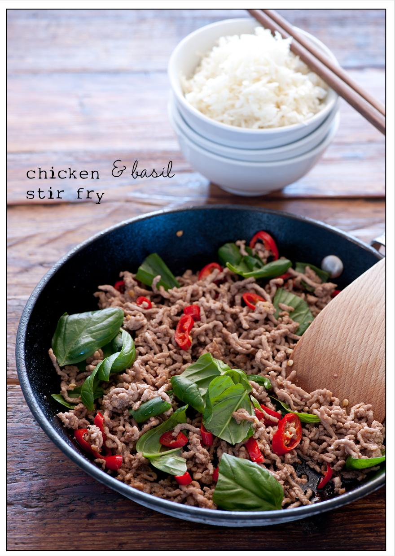 stir fry of chicken & basil recipe7 | Flickr - Photo Sharing!