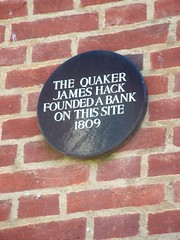 Photo of Hack, Dendy & Co and James Hack black plaque