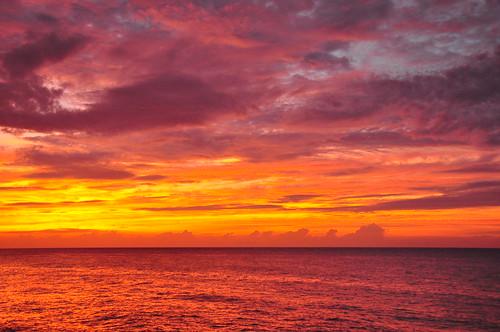 ocean sunset beach hotel nikon jamaica montegobay d90 grandpalladium