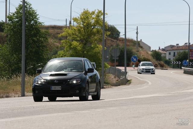 Subaru Impreza STi Sedan Vs Delta Integrale Martini 5 Vs Lancer EVO IX RS