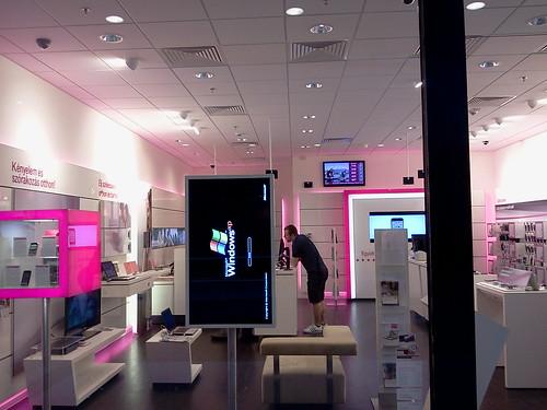 XP reklám a T-Mobileban