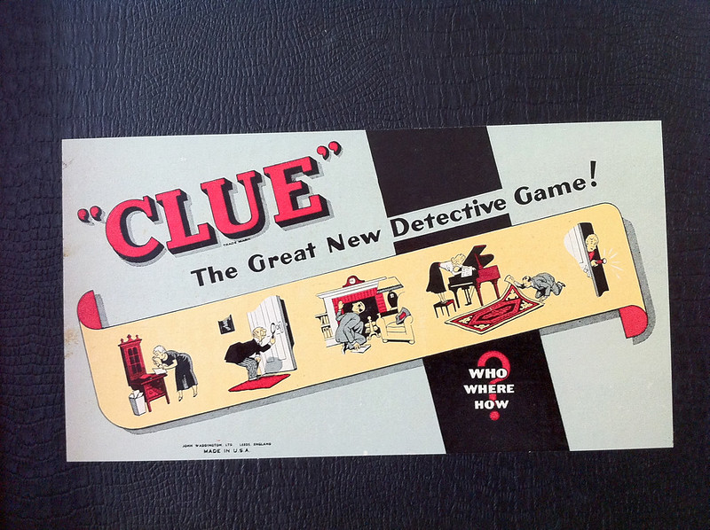 clue rules and instructions