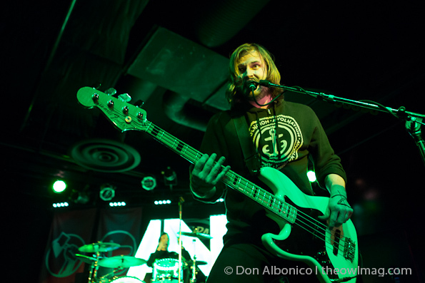 Awolnation @ Ace of Spades, Sacramento 4/9/2012