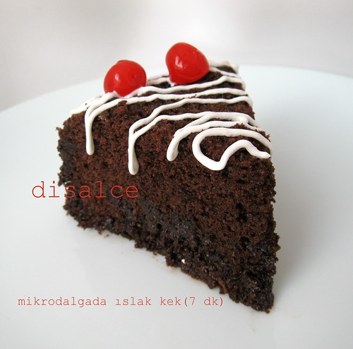 mikrodalgada browni kek (7 dk)