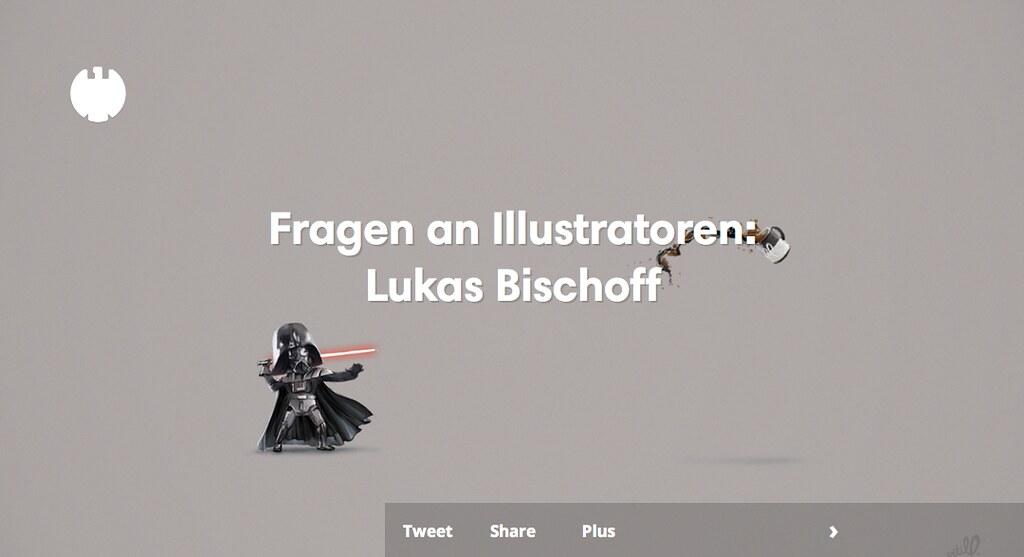Fragen an Illustratoren: Lukas Bischoff
