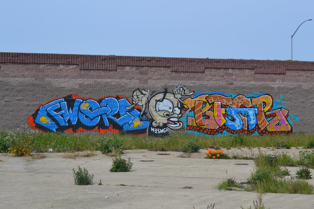FWORD, MESR, BEGR, OAKLAND, the yard, Graffiti