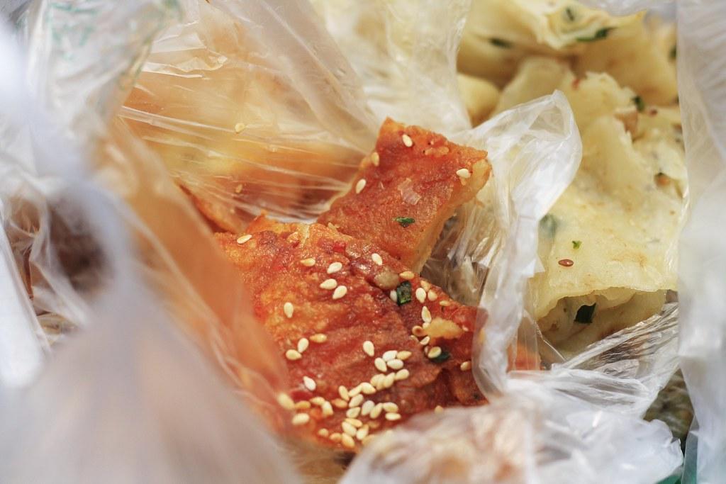 Xiang la bing chengdu snack food