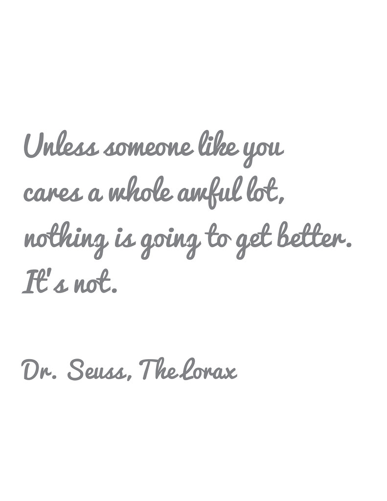 unless someone like you ...