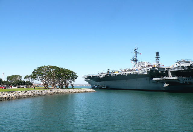 Midway Battleship Museum Park Area