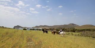 Paisaje rural del cabo de Gata.