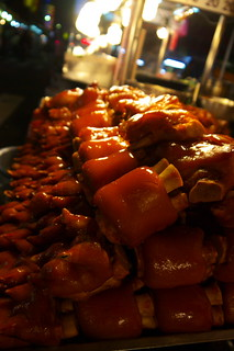 Wanhua Night Market 華西街/廣州街 - 鹵豬腳