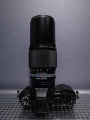Olympus OM-D + Zuiko Old OM System Lens