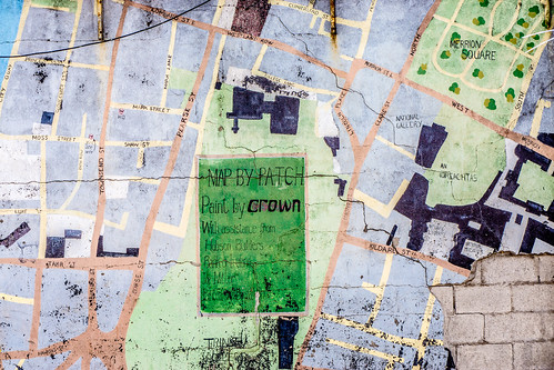 """Map By Patch"" - South Princes Street (Dublin) by infomatique"