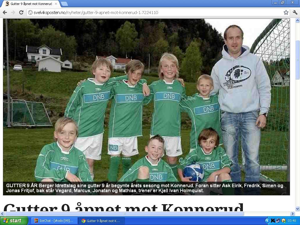 38288361 johncons: Det her er Berger IL, hvor jeg spilte fotball, under ...