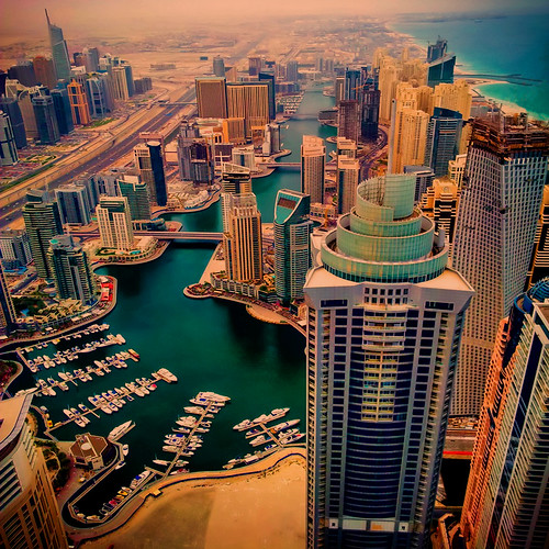 無料写真素材, 建築物・町並み, 都市・街, ビルディング, 風景  ドバイ