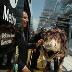 Los Angeles Mayor and Metro Board President Villaraigosa at Expo Line Phase I Opening