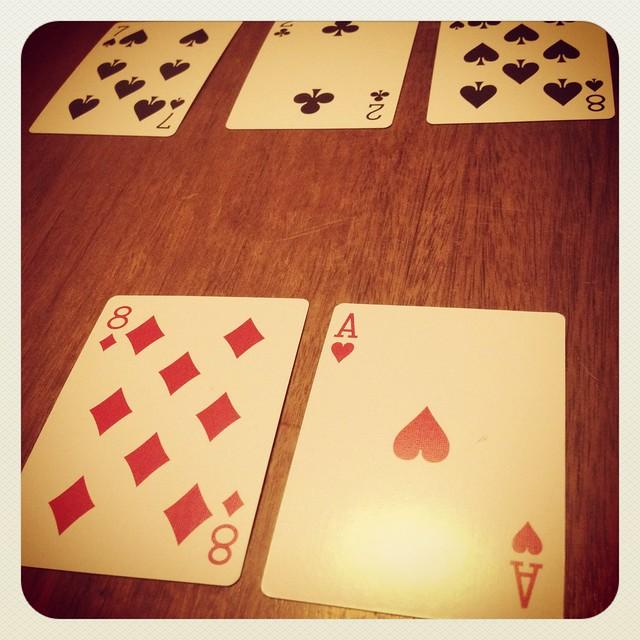 21 card game
