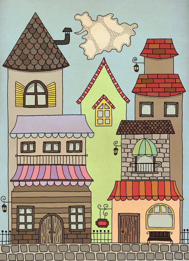 A little town