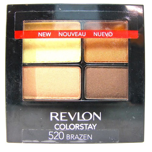 Revlon colorstay 16 hour eye shadow quad project vanity brazen is my favoritest neutral quad palette to date thats saying a lot ha i love how well this matches with my skin tone the color combination is love ccuart Images