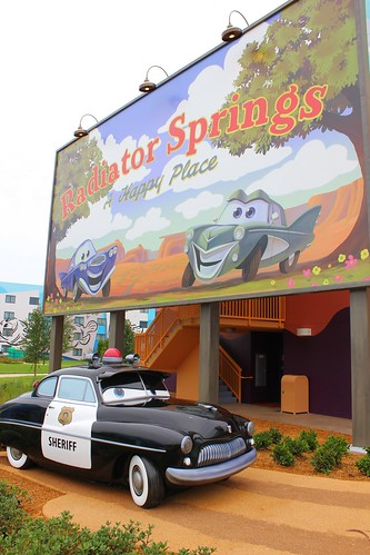Cars wing of Disney's Art of Animation Resort