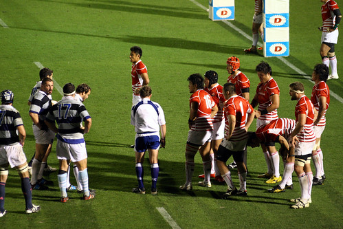 RUGBY-Japon vs Francia BB-empujon