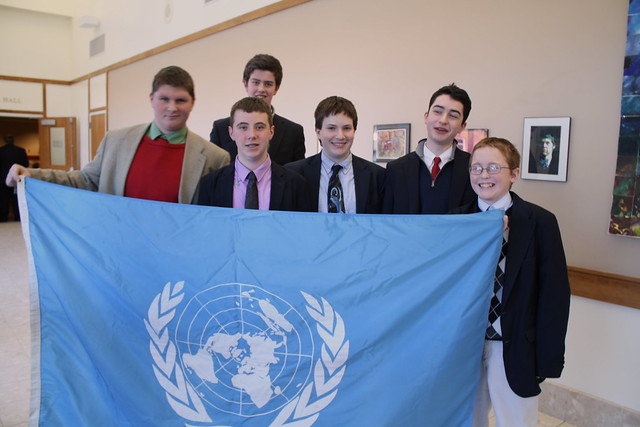 SJ Model UN and Madeleine Albright Visit