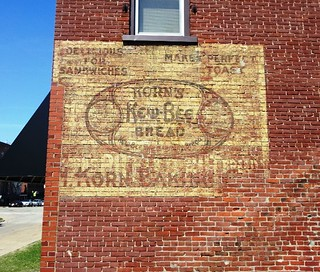 Korn's Kew-Bee Bread ghost sign