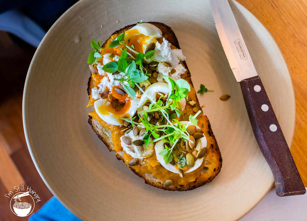 Kepos Street Kitchen pumpkin bruschetta
