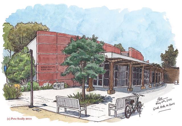 Giedt Hall, UC Davis