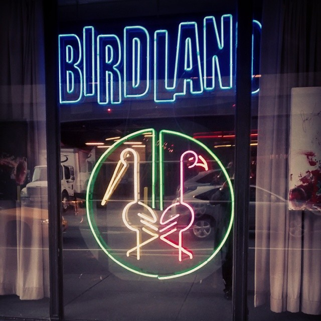 Birdland Monday night New York City