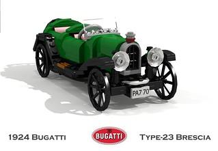 Bugatti Type-23 Brescia Tourer Chassis No. 2243 - 1924