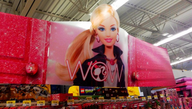 Barbie Doll Section Walmart