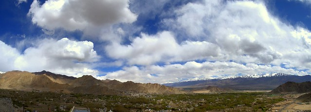 View from Thikse Monastery, Leh