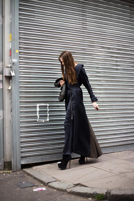 Street Style - Dorotea Pospihalj, Graduate Fashion Week