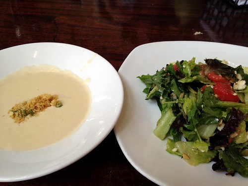 Crab Bisque & Bungalow Salad