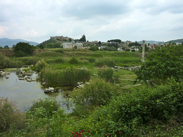 Artemis temple ruin