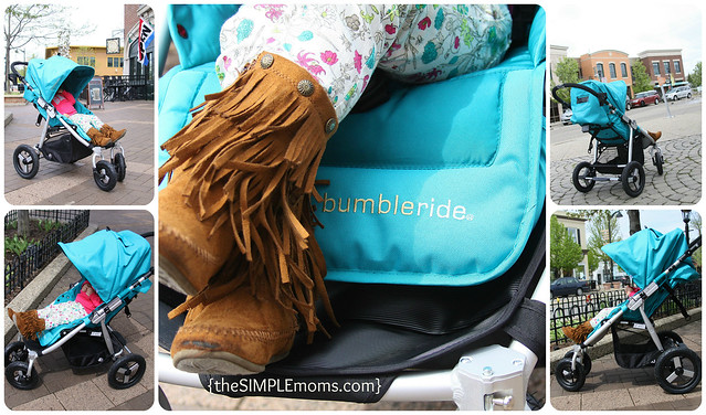 bumbleride indie 4 stroller lifestyle collage