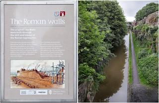 THE ROMAN WALLS