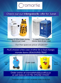 dr who bisque pack june