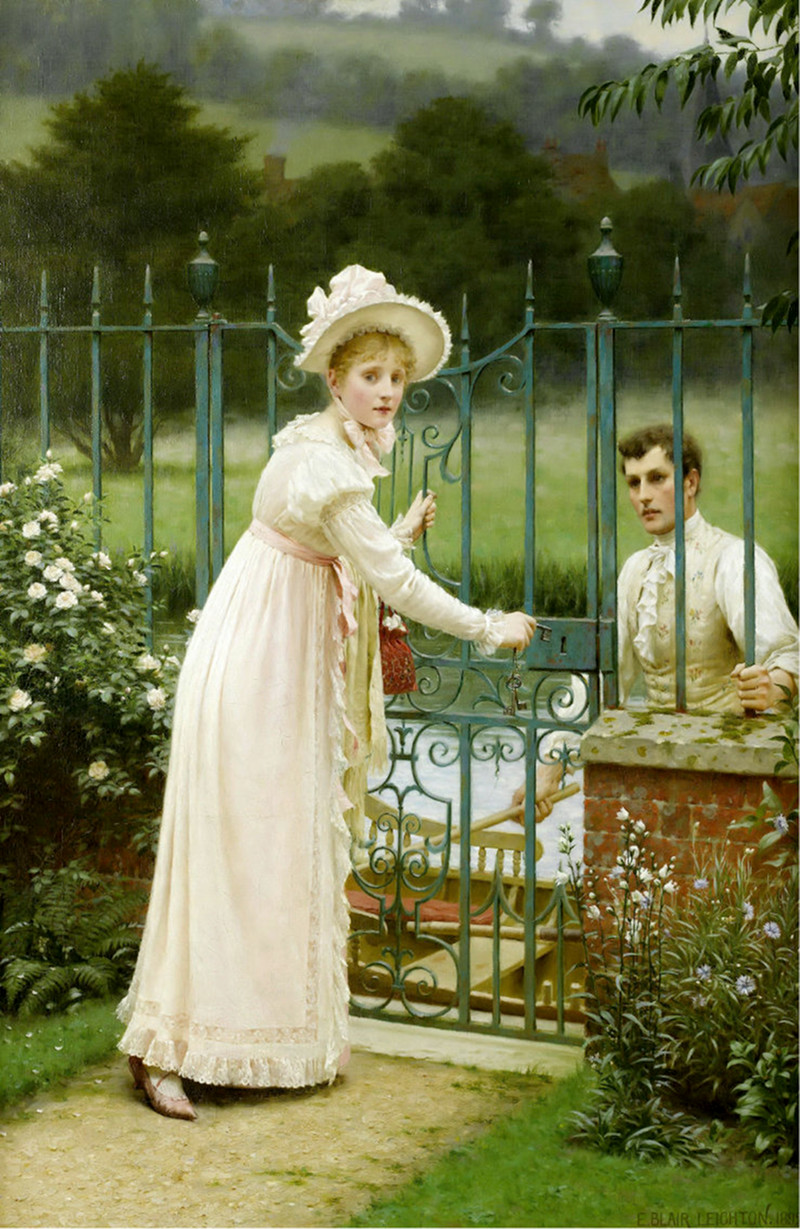 Where there's a will by Edmund Blair Leighton