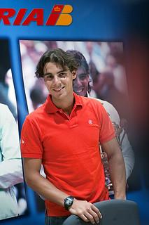 Rafael Nadal con Iberia