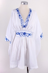 Vintage Summer Embroidered Dress