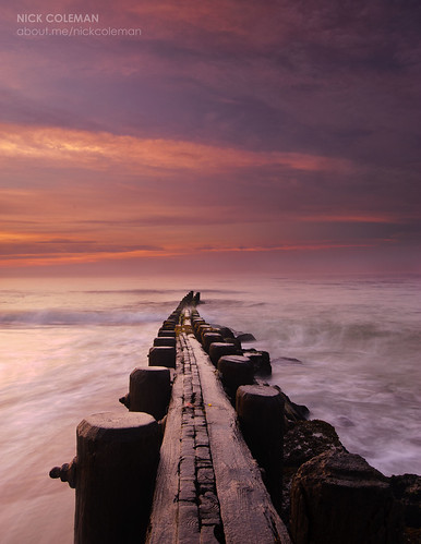 Holgate Jetty, Dawn, Holgate, NJ by ~nicholas