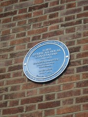 Photo of Learie Constantine blue plaque