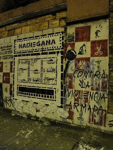 Week of Action Against Gun Violence 2011 - MURAL - Semana Mundial de Acción Contra la Violencia Armada