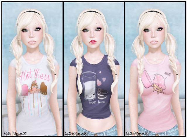 [A]Limited Kawaii tees - grace skin