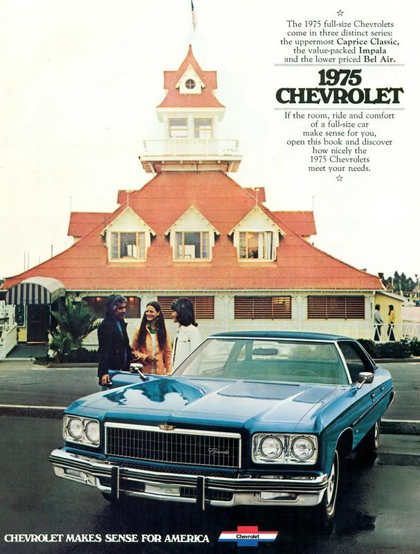 1975 Chevrolet Caprice 4 Door Hardtop