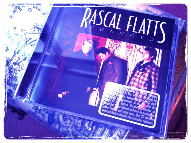 Rascal Flatts Changed album review gift idea