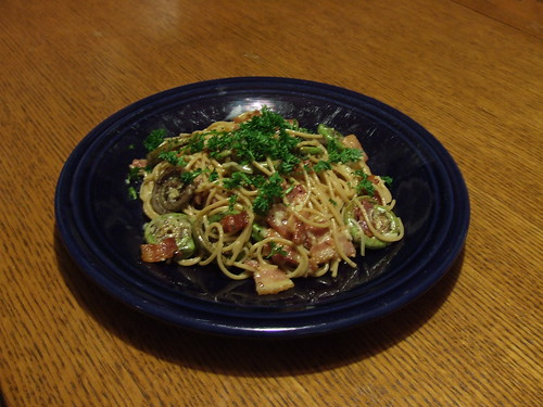 Fiddlehead Fern Carbonara