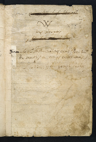 Ownership annotations in Formularium instrumentorum ad usum Curiae Romanae